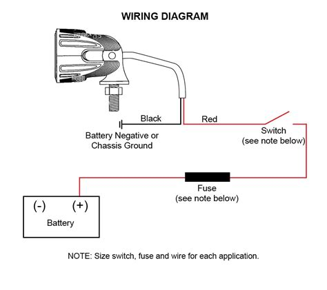aci road led lights and wiring diagram