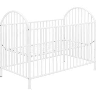 White Metal Crib by Dorel Home Furnishings White Metal Crib Baby Furniture