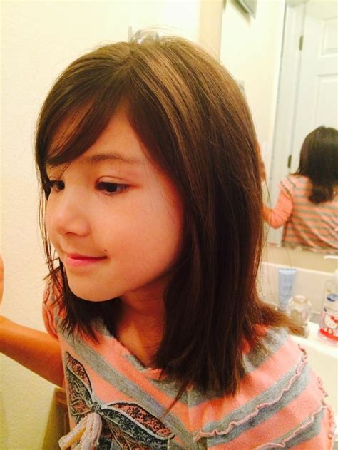 kids shoulder kength hair styles shoulder length hairstyles for girls kids little girls