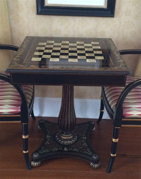 A Maitland Smith Chess Table The