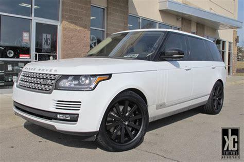 white land rover black rims black rims for range rover giovanna luxury wheels