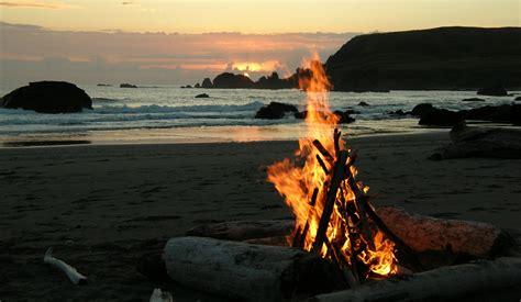 california pit california bonfires california beaches