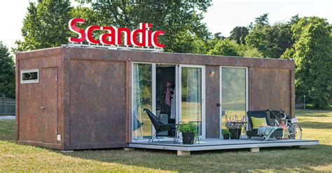 room to go locations scandic hotels has a mobile hotel room that locations contemporist