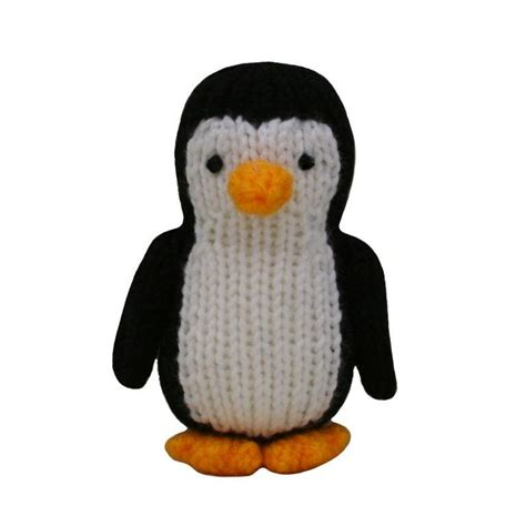 how to knit a penguin penguin by knitables craftsy