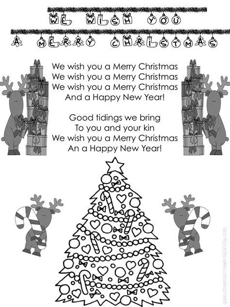 chant de noel merry christmas anglais