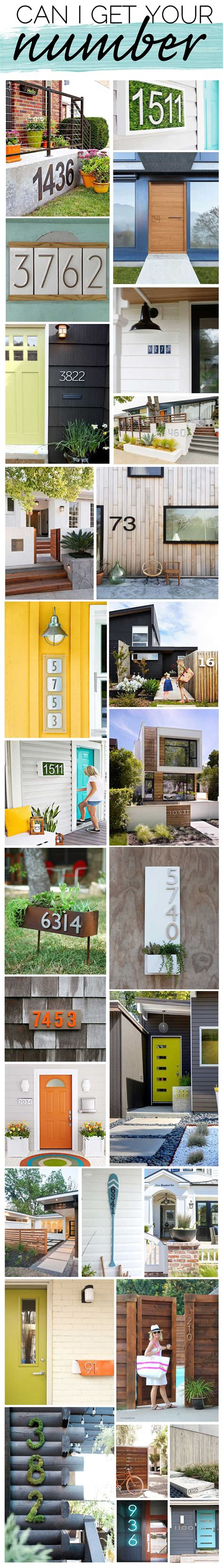 house number designs house numbers