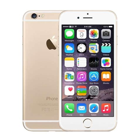 Iphone 6 16gb Second Original 100 Not Refurbished Not Rakitan Batam 100 original refurbished apple iphone 6 cell phones 16g 64g ios gold 4 7 i6 smartphone