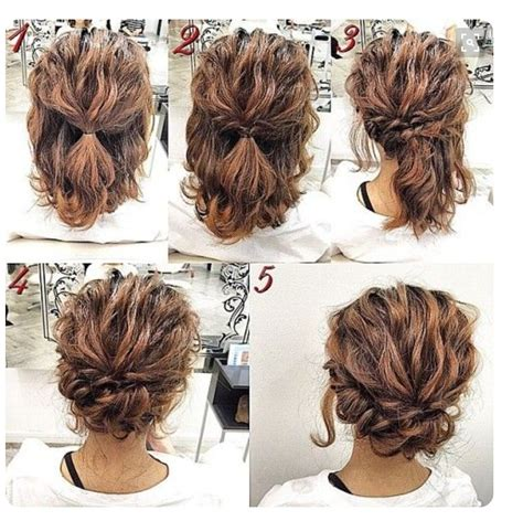 easy homemade hairstyles for medium hair perfectly messy updo hairdos pinterest messy updo