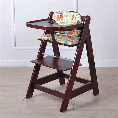 Multifunctional Baby Child Solid Wood Dining Chair Baby Child Dining Chair
