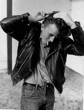 American Fashion in the 1950s, Greasers, Rockers, bad boys