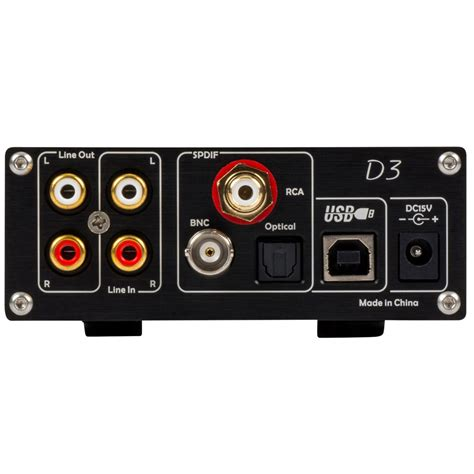 Topping D3 topping d3 usb dac cs4398 with headphone lifier black