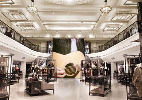 design magazine shop london burberry regent street flagship review new grids