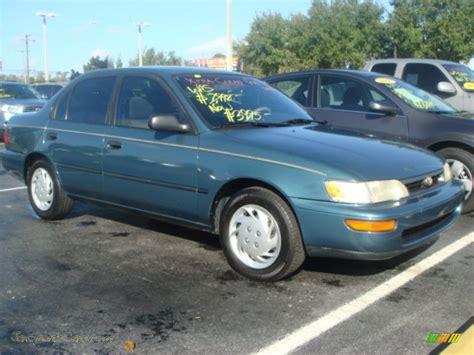 teal toyota corolla 1995 toyota corolla dx sedan in teal mist metallic photo