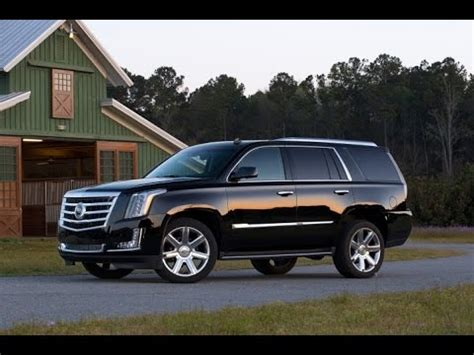 2017 Cadillac Escalade Configurations by 2016 Cadillac Escalade Start Up And Review 6 2 L V8