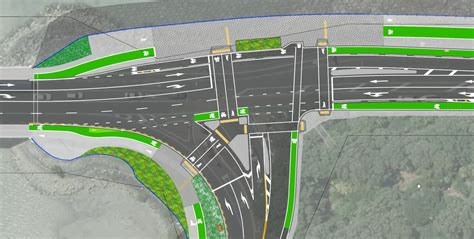 layout road meaning intersect this the new design for ngapipi tamaki drive