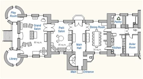 french chateau floor plans chateau du pin ground floor floor plan
