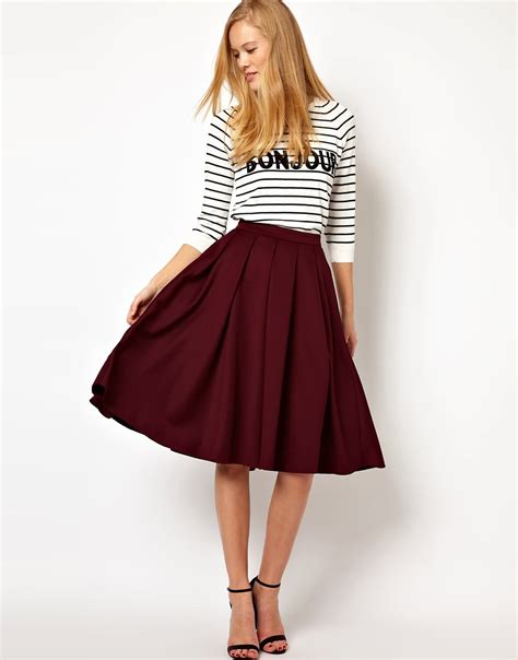 fashionistas tales fashion designer midi skirt is