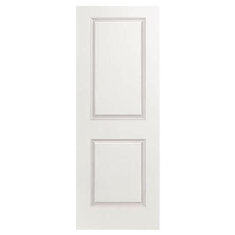 Interior Doors Masonite Masonite 24 In X 80 In Smooth 2 Panel Square Hollow Primed Composite Interior Door Slab