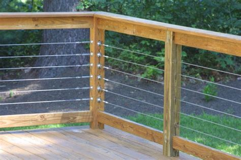 Wire Handrail Pin By Martin On Outside Living