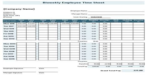 Free Online Construction Design Software biweekly time sheet for general contractor