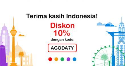 agoda diskon 10 agoda extra diskon di indonesia