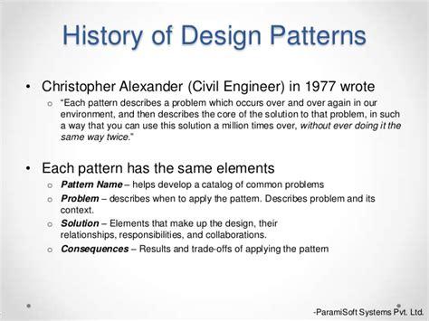 singleton pattern history design pattern abstract factory singleton