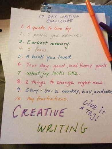 day writing challenge