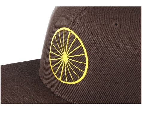 Rip Curl Colorado Ls37 Brown Yellow wheel brown yellow snapback bike souls caps hatstore co uk