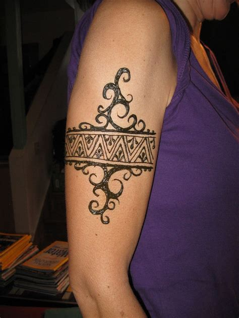 tattoo band arm band concept in another world but without