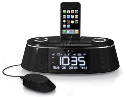 bedroom security gadgets bed shaking alarm clocks by iluv modern bedrooms