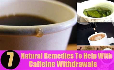 Caffeine Detox Severe by 7 Remedies To Help With Caffeine Withdrawals How
