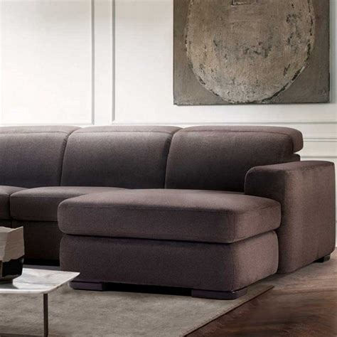 natuzzi sectional natuzzi diesis electric recliner sectional sofastocktons