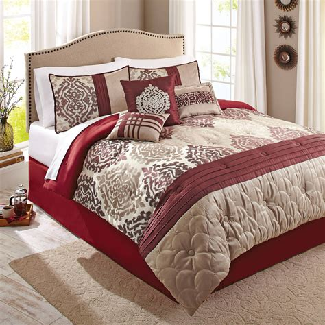 mainstays 7 piece comforter set dakota walmart com