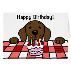 chocolate labrador you birthday zazzle