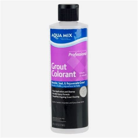 aqua mix grout colorant aqua mix grout colorant 8 oz bottle charcoal gray