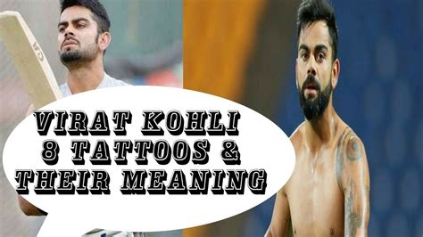 tattoo designs of virat kohli virat kohli s 8 tattoos their meanings virat kohli