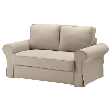 two sofas backabro two seat sofa bed hylte beige ikea
