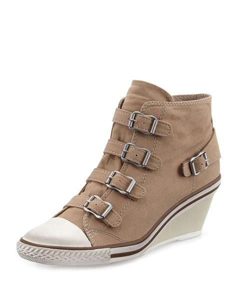 wedge sneakers ash genialbis wedge sneakers in lyst
