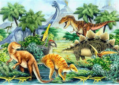 Retro Wall Murals dinosaur wallpaper for kids room wallpapersafari