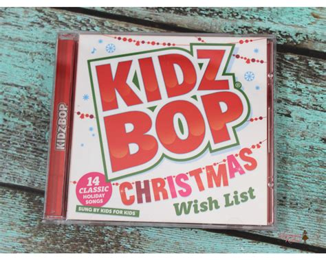 giveaway kidz bop christmas wish list cd mommy katie