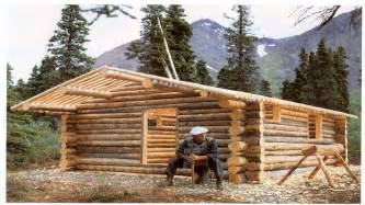 building a simple log cabin small log cabin building log