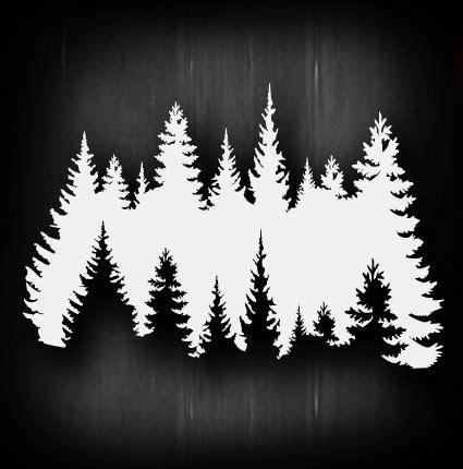 treeline tattoo treeline airbrush stencil template airsick ebay