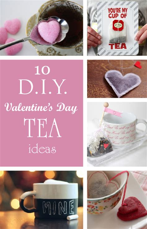 diy valentine s gifts for friends 10 diy valentines day tea gift ideas diy tea bags