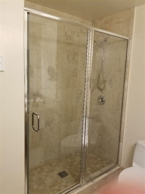 Shower Door Replacement Patriot Glass And Mirror San Replacing Shower Door Glass