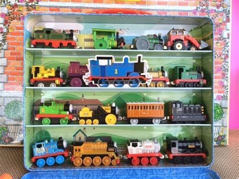 Whiff Die Cast And Friends 16 and friends die cast trains percy stephen whiff trevor in a