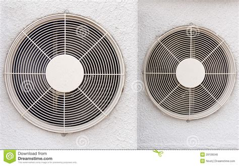 compressed air powered fans air compressor fan royalty free stock image image 29106046