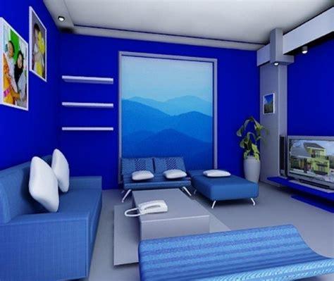 contoh kombinasi warna cat contoh kombinasi cat dinding warna biru pada rumah