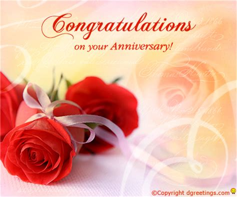 Congratulation Wedding Anniversary by Congratulations On Your Anniversary