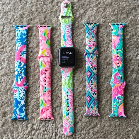 lilly pulitzer accessories apple  band  mm