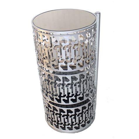 Murah Ring Meja Putar Etalase Putar Kursi Putar Silver meja putar unik kreatif murah bahan metal kuat tahan lama